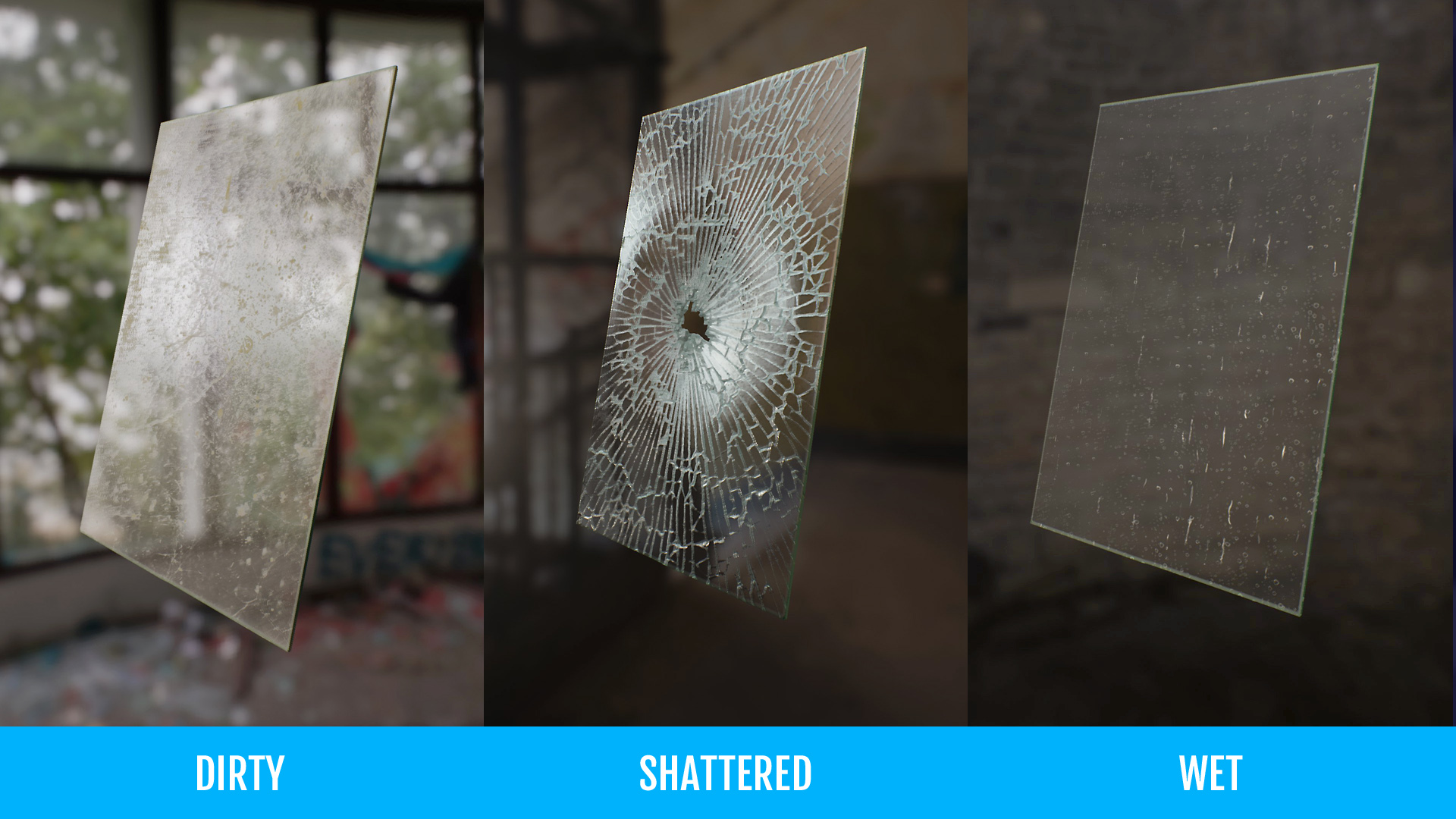 UE4 Material – Glass | Unreal Engine 4 blog