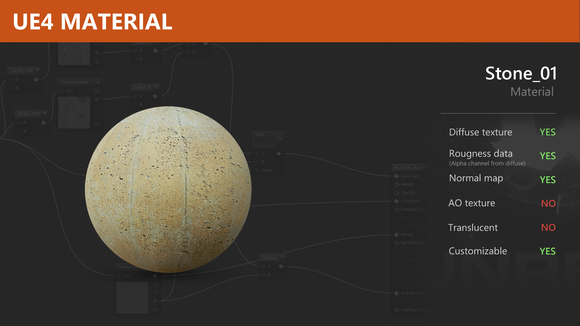 UE4 Material – Stone 01 | Unreal Engine 4 blog