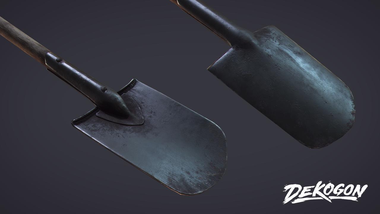 Shovel by Michal Orzelek