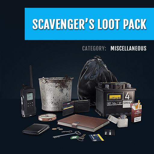 Scavengers Loot Pack
